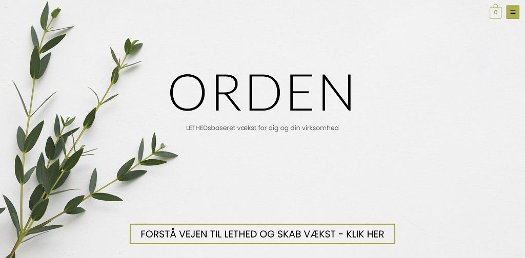 LETHEDsbaseret vækst for dig og din virksomhed - ORDEN.dk